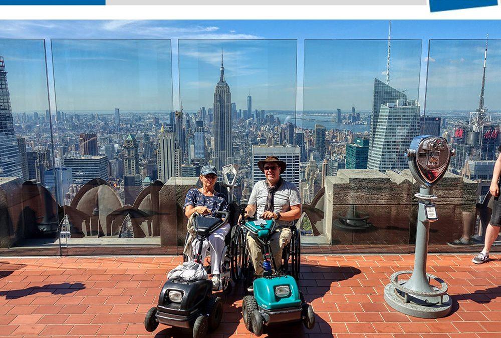 Berliner Woche – Im Rollstuhl um die Welt