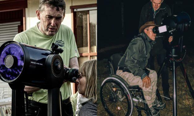 Reisen im Rollstuhl: Astrourlaub