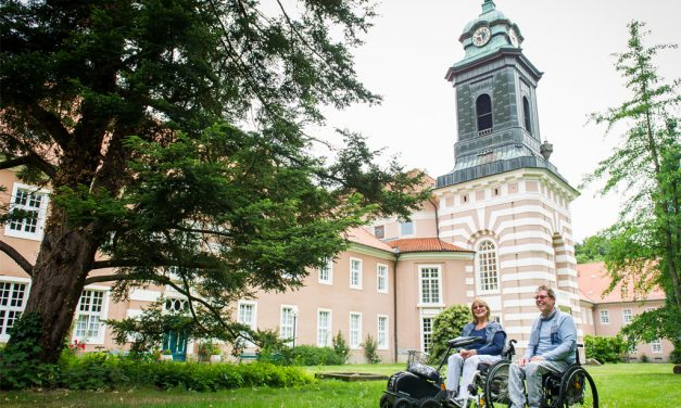 Reisen im Rollstuhl: Umgebung Bad Bevensen