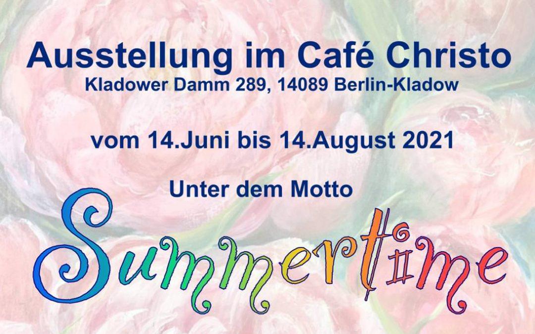 Summertime – Ausstellung im Cafe Christo