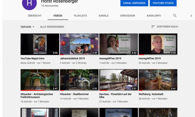 Unsere Videoclips bei Youtube