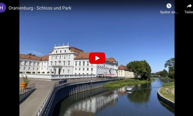 Reisen im Rollstuhl: Oranienburg – Schloss und Park