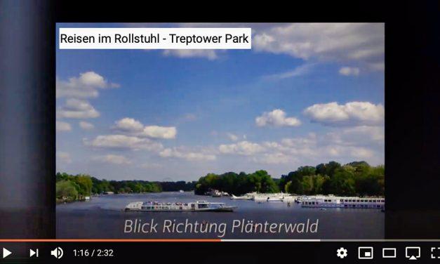 Reisen im Rollstuhl – Treptower Park